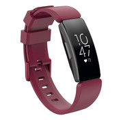 JVS Products Fitbit Inspire Silliconen Horloge Bandje - Silliconen - Horloge Bandje - Polsband - Fitbit Inspire - Rood/Paars