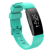 JVS Products Fitbit Inspire HR Silliconen Horloge Bandje - Silliconen - Horloge Bandje - Polsband - Fitbit Inspire HR - Turquoise