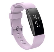 JVS Products Fitbit Inspire HR Silliconen Horloge Bandje - Silliconen - Horloge Bandje - Polsband - Fitbit Inspire HR - Lila