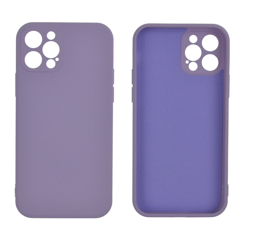 iPhone 7 Back Cover Hoesje - TPU - Backcover - Apple iPhone 7 - Lila