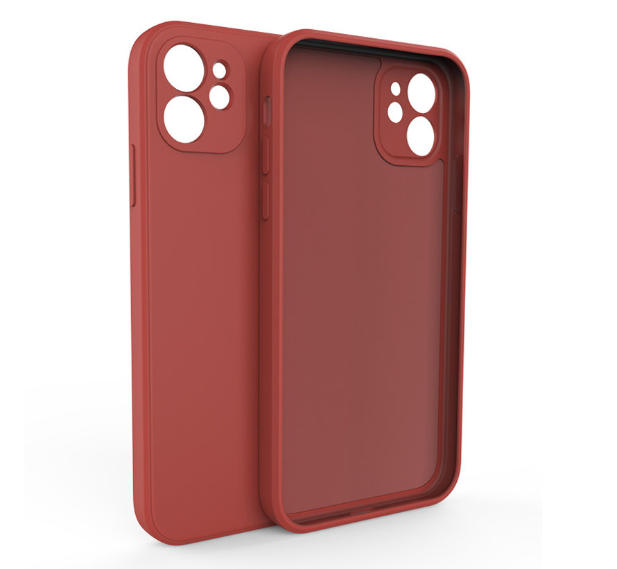 iPhone 7 Back Cover Hoesje - TPU - Backcover - Apple iPhone 7 - Rood