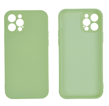 JVS Products iPhone SE 2020 Back Cover Hoesje - TPU - Backcover - Apple iPhone SE 2020 - Lichtgroen