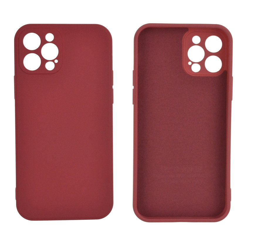 iPhone SE 2020 Back Cover Hoesje - TPU - Backcover - Apple iPhone SE 2020 - Rood