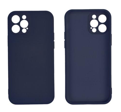 JVS Products iPhone 11 Back Cover Hoesje - TPU - Backcover - Apple iPhone 11 - Donkerblauw