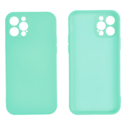 JVS Products iPhone 11 Pro Max Back Cover Hoesje - TPU - Backcover - Apple iPhone 11 Pro Max - Turquoise