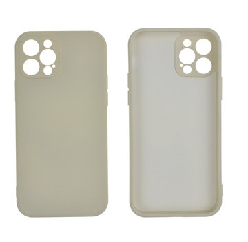 JVS Products iPhone 12 Back Cover Hoesje - TPU - Backcover - Apple iPhone 12 - Gebroken Wit