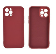 JVS Products iPhone 12 Back Cover Hoesje - TPU - Backcover - Apple iPhone 12 - Rood