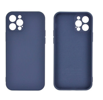 JVS Products iPhone 12 Back Cover Hoesje - TPU - Backcover - Apple iPhone 12 - Paars / Blauw