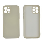 JVS Products iPhone 12 Pro Back Cover Hoesje - TPU - Backcover - Apple iPhone 12 Pro - Gebroken Wit