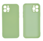 iPhone 12 Pro Back Cover Hoesje - TPU - Backcover - Apple iPhone 12 Pro - Lichtgroen