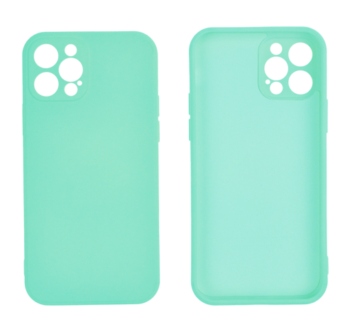 JVS Products iPhone 12 Pro Max Back Cover Hoesje - TPU - Backcover - Apple iPhone 12 Pro Max - Turquoise