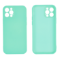 iPhone 12 Pro Max Back Cover Hoesje - TPU - Backcover - Apple iPhone 12 Pro Max - Turquoise