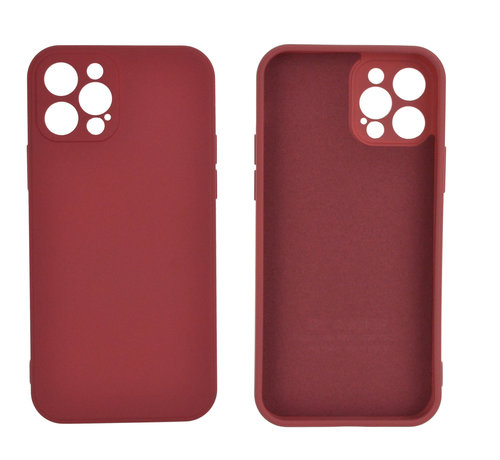 JVS Products iPhone 12 Pro Max Back Cover Hoesje - TPU - Backcover - Apple iPhone 12 Pro Max - Rood