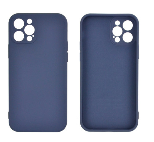 JVS Products iPhone 12 Pro Max Back Cover Hoesje - TPU - Backcover - Apple iPhone 12 Pro Max - Paars / Blauw