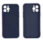Samsung Galaxy A12 Back Cover Hoesje - TPU - Backcover - Samsung Galaxy A12 - Donkerblauw