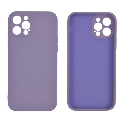 JVS Products Samsung Galaxy A12 Back Cover Hoesje - TPU - Backcover - Samsung Galaxy A12 - Lila