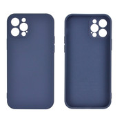 JVS Products Samsung Galaxy A12 Back Cover Hoesje - TPU - Backcover - Samsung Galaxy A12 - Paars / Blauw
