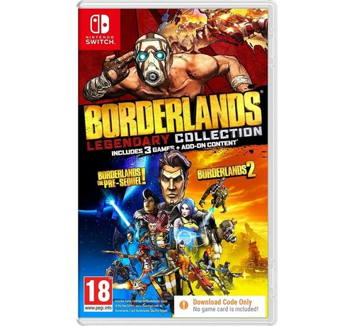 Take Two Nintendo Switch Borderlands - Legendary Collection (Code in a Box) kopen