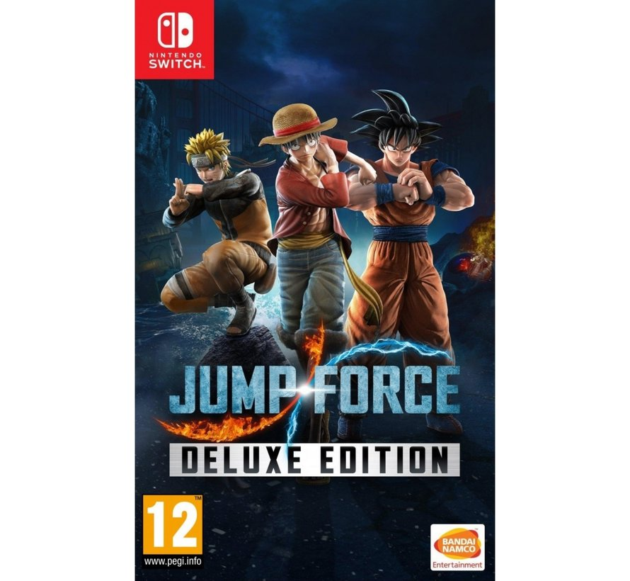Nintendo Switch Jump Force - Deluxe Edition (Code in a Box) kopen