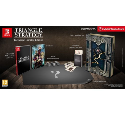 Nintendo Nintendo Switch Triangle Strategy - Tactician's Limited Edition kopen