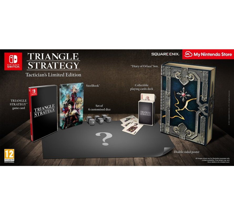 Nintendo Switch Triangle Strategy - Tactician's Limited Edition kopen