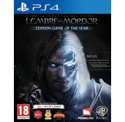 Warner PS4 Middle-Earth: Shadow Of Mordor Game of the Year Edition