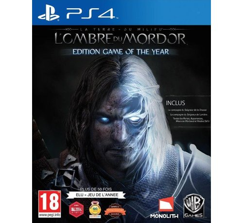Warner PS4 Middle-Earth: Shadow Of Mordor Game of the Year Edition kopen