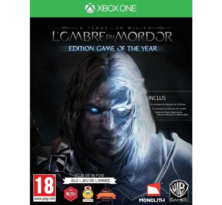 Xbox One Shadow Of Mordor Game of the Year Edition