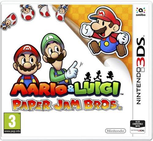 Nintendo 3DS Mario & Luigi: Paper Jam Bros