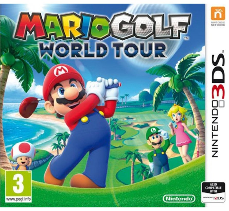 3DS Mario Golf: World Tour