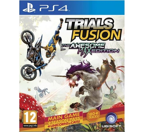 Ubisoft PS4 Trials Fusion The Awesome Max Edition kopen
