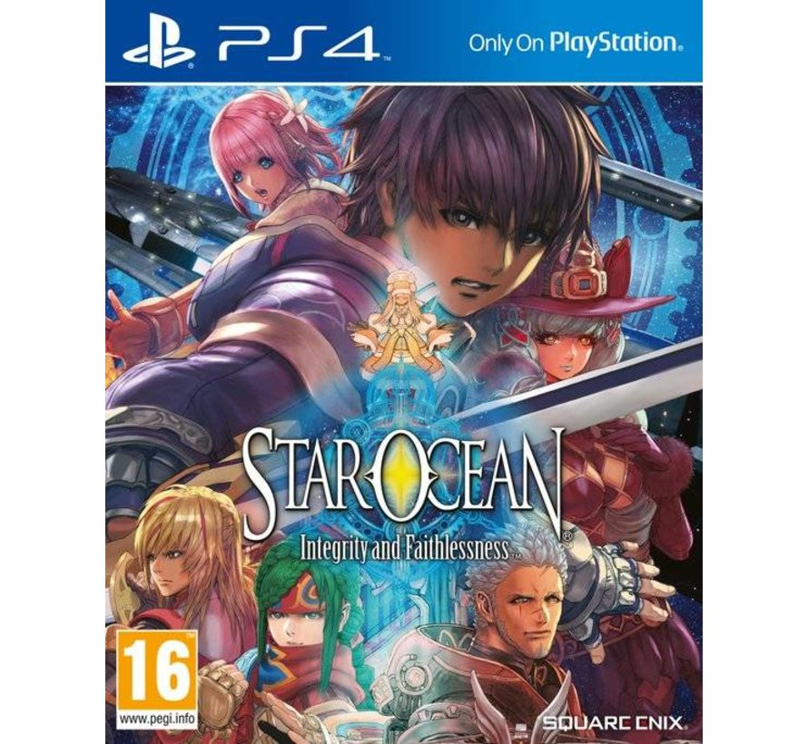 PS4 Star Ocean V: Integrity and Faithlessness