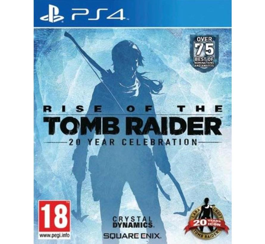 PS4 Rise Of The Tomb Raider: 20 Year Celebration