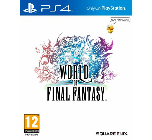 Square PS4 World of Final Fantasy