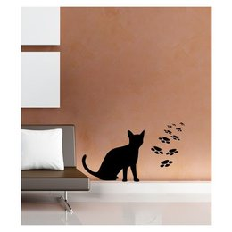 Coart Muurstickers Katje- Little Cat