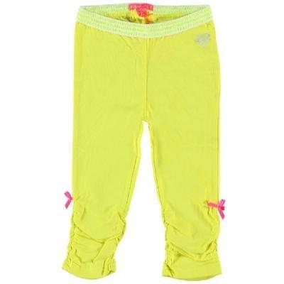 Kidz-Art korte meisjes legging in vrolijk geel