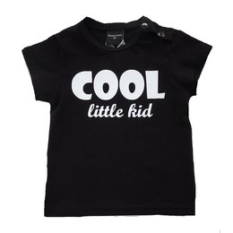 Roos & Tijn Design shirt Cool Little Kid black