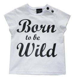 Roos & Tijn Design shirt Born to be Wild wit