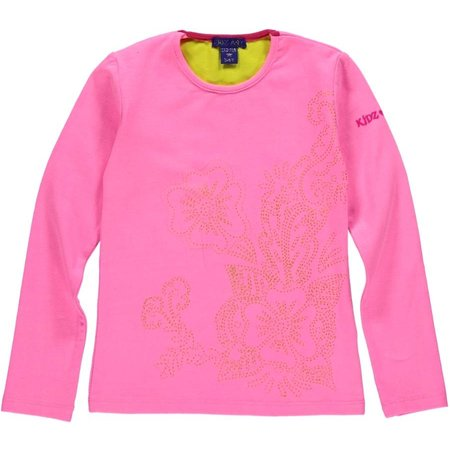 Kidz-Art longsleeve bright pink