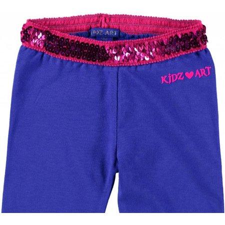 Kidz-Art legging purple blue