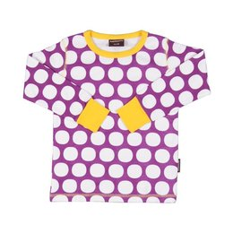 Maxomorra shirt Polkadot Purple