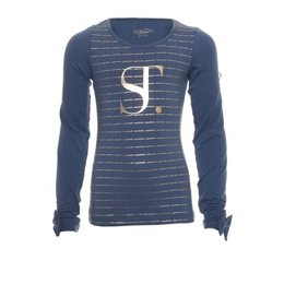 SuperTrash logo shirt Tally blue