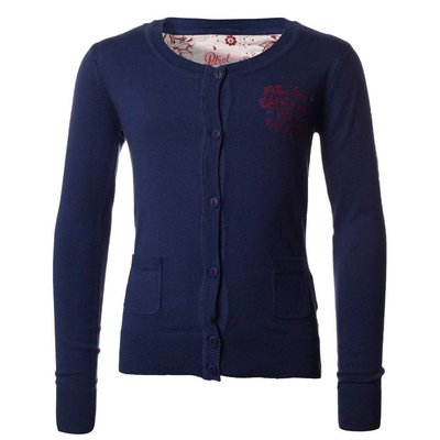 Petrol Industries girls vest navy knit