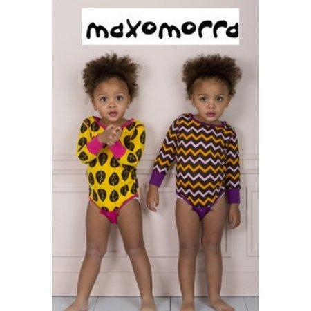 Maxomorra bodysuit Zig Zag