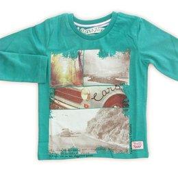 Cars Jeans boys shirt Sportscar Magic Green