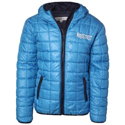 Moodstreet winterjas bright blue