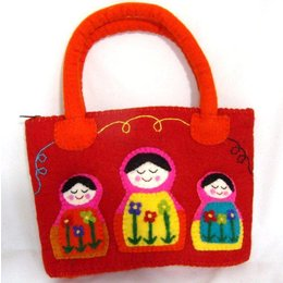 Cute Factory Fairtrade tasje Babouschka