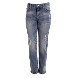 Little Pieces stoere stretch jongensjeans met scheuren