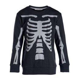 Little Pieces Boys sweater Skeleton