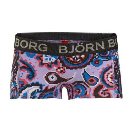 Björn Borg meisjes boxers 2-pack paisley & stripes